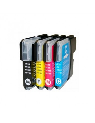 INKOEM Cartucho Compatible Brother LC980XL/1100XLC - Imagen 1