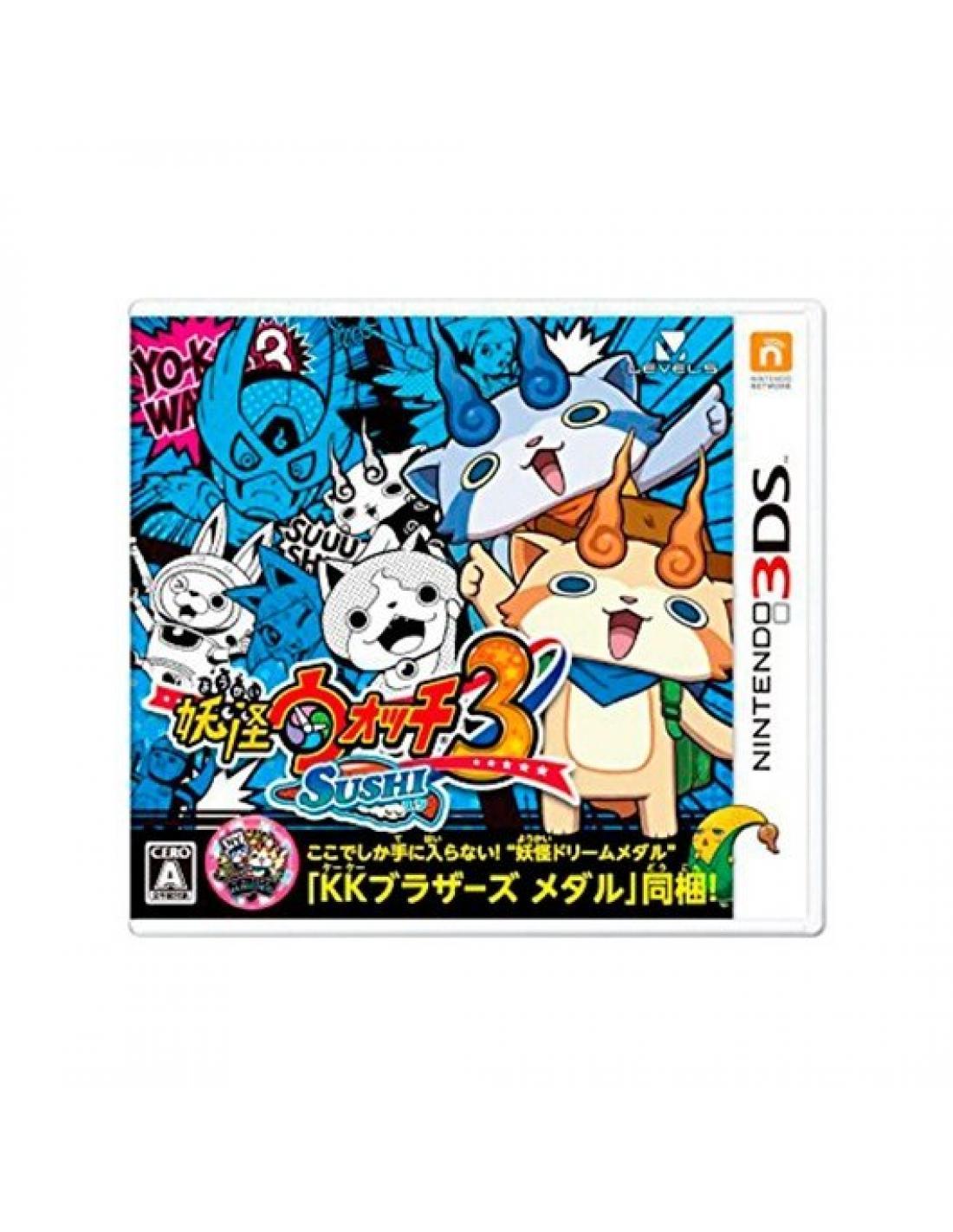 Juego Nintendo 3ds Yo Kai Watch 3