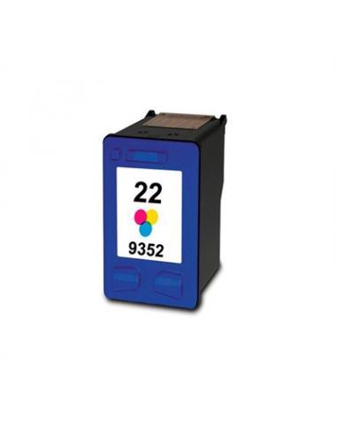 INKOEM Cartucho Reciclado HP N22XL Color - Imagen 1