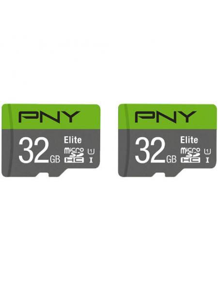 MICROSD PACK 2 x 32GB ELITE PNY - Imagen 1