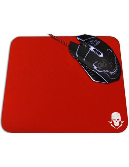 Skullkiller GMPR1 Almohadilla Gaming Roja - Imagen 2