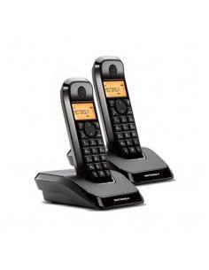 TELEFONO INALAMBRICO DECT DIGITAL MOTOROLA S1202 DUO - Imagen 1