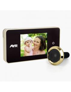 MIRILLA DIGITAL 756 LCD 2,6 CROMO AYR - Imagen 1