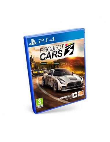 JUEGO SONY PS4 PROJECT CARS 3 - Imagen 1