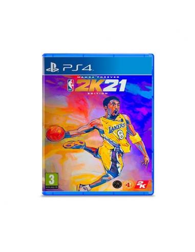 JUEGO SONY PS4 NBA 2K21 MAMBA FOREVER EDITION - Imagen 1