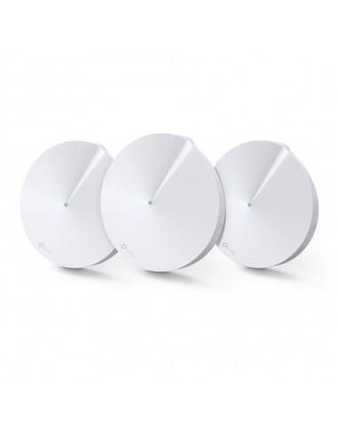 TP-LINK Deco M5, 3-Pack punto de acceso WLAN 1300 Mbit s Blanco