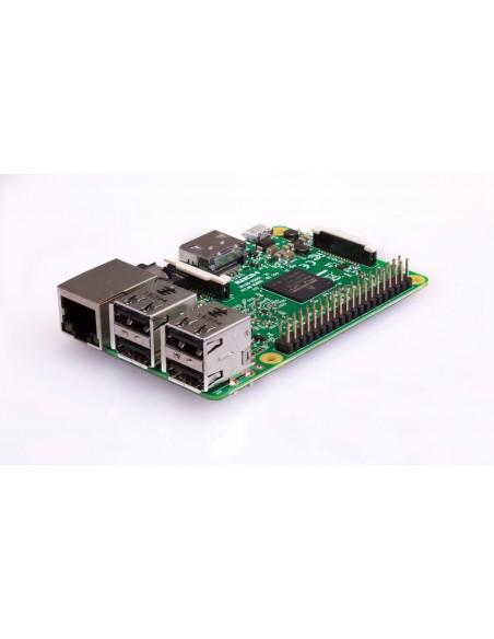 Raspberry Pi 3 Model B placa de desarrollo 1,2 MHz BCM2837