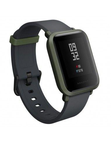 "Amazfit Bip reloj inteligente Negro, Verde LED 3,25 cm (1.28"") GPS (satélite)"