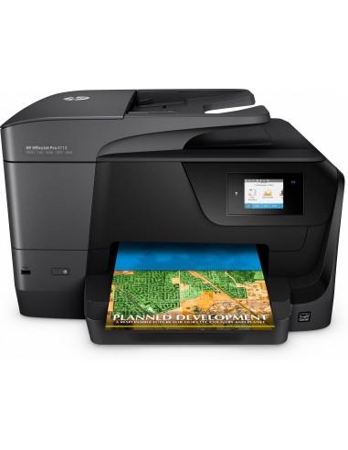HP OfficeJet Pro 8710 Inyección de tinta térmica 22 ppm 4800 x 1200 DPI A4 Wifi