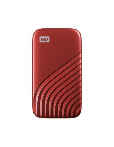 SANDISK MY PASSPORT TM SSD 2TB RED