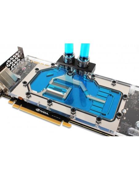 EK Water Blocks 3831109813324 ventilador de PC Procesador Set de refrigeración Transparente