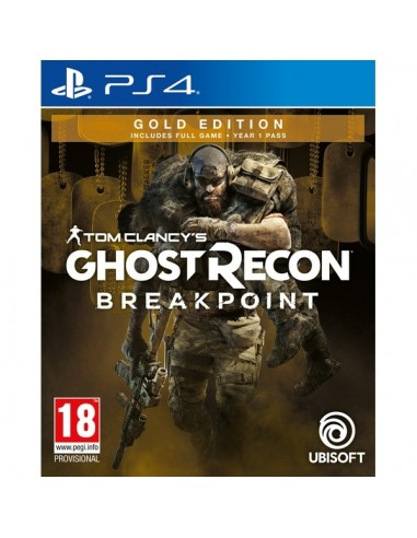 Sony Tom Clancy's Ghost Recon Breakpoint Gold Edition, PS4 Oro PlayStation 4