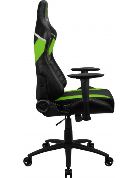 ThunderX3 TC3 Silla para videojuegos universal Asiento acolchado Negro, Verde