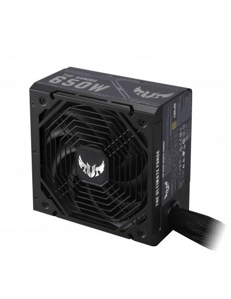 ASUS TUF-GAMING-650B unidad de fuente de alimentación 650 W 20+4 pin ATX ATX Negro