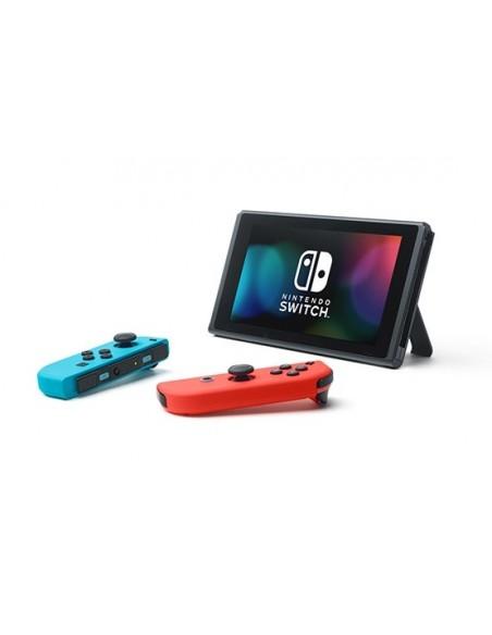 "Nintendo Switch V2 2019 videoconsola portátil 15,8 cm (6.2"") 32 GB Wifi Negro, Azul, Rojo"