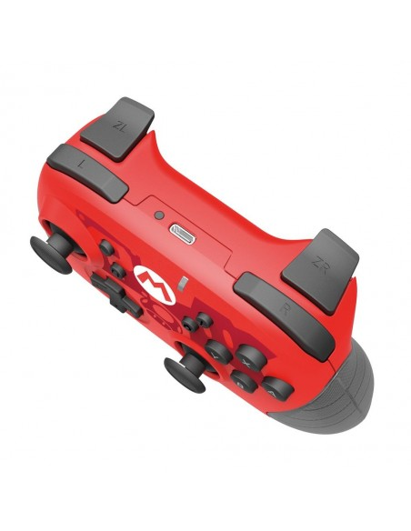 FLASHPOINT 617250 mando y volante Negro, Rojo Bluetooth Gamepad Analógico Digital Nintendo Switch