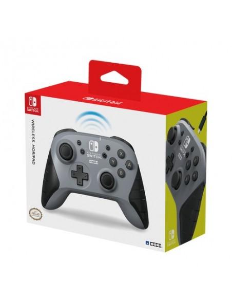 Hori NSW-175U mando y volante Negro, Gris Bluetooth Gamepad Analógico Nintendo Switch