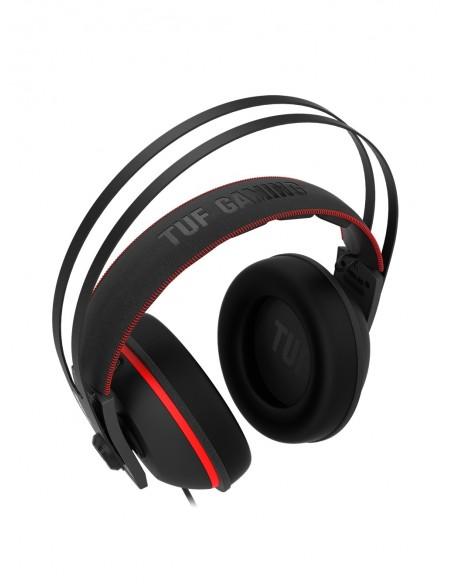 ASUS TUF Gaming H7 Auriculares Diadema Conector de 3,5 mm Negro, Rojo