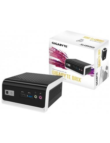 Gigabyte GB-BLCE-4000C PC estación de trabajo barebone Negro, Blanco BGA 1090 N4000 1,1 GHz