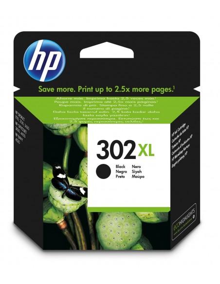 HP 302XL cartucho de tinta 1 pieza(s) Original Alto rendimiento (XL) Negro
