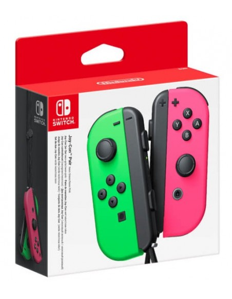 Nintendo Joy-Con Negro, Gris, Rosa Bluetooth Gamepad Analógico Digital Nintendo Switch