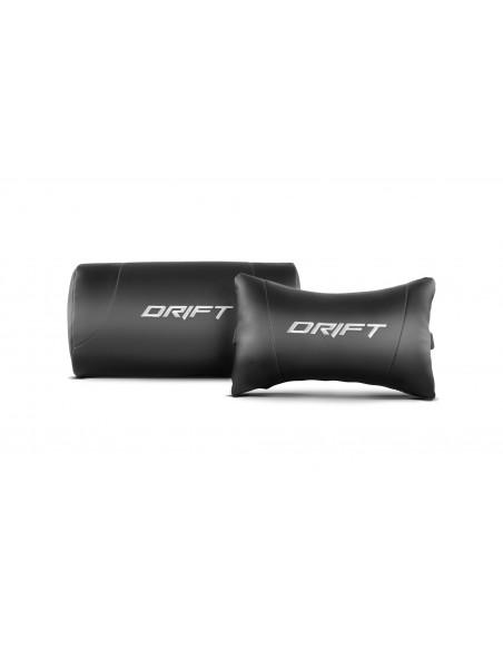 DRIFT DR150 Silla para videojuegos universal Asiento acolchado Negro