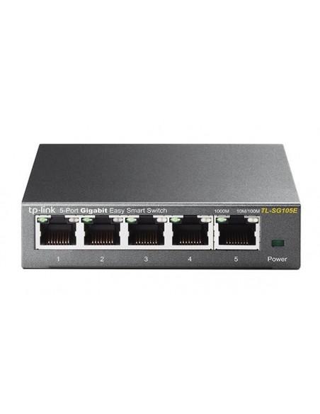 TP-LINK TL-SG105E L2 Gigabit Ethernet (10 100 1000) Negro