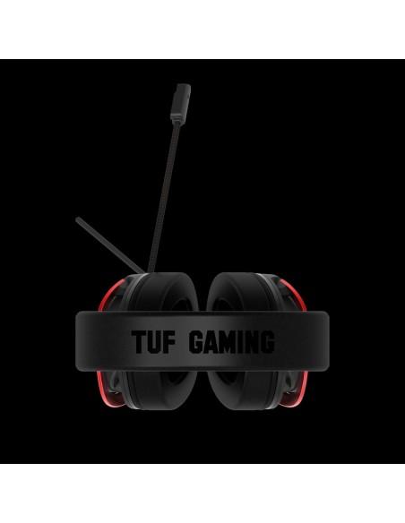 ASUS TUF Gaming H3 Auriculares Diadema Conector de 3,5 mm Negro, Rojo