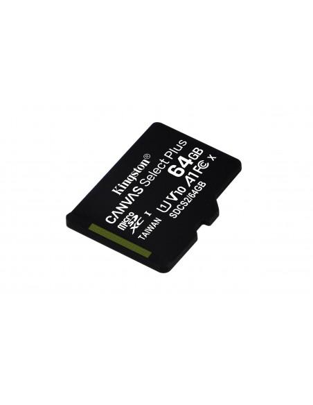 Kingston Technology Canvas Select Plus memoria flash 64 GB MicroSDXC UHS-I Clase 10