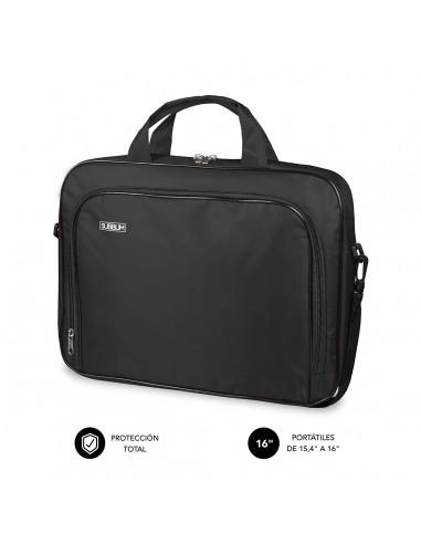 "SUBBLIM Maletín Ordenador Oxford Laptop Bag 15,4-16"" Black"