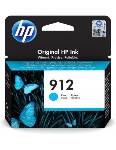 HP 912 cartucho de tinta 1 pieza(s) Original Rendimiento estándar Cian