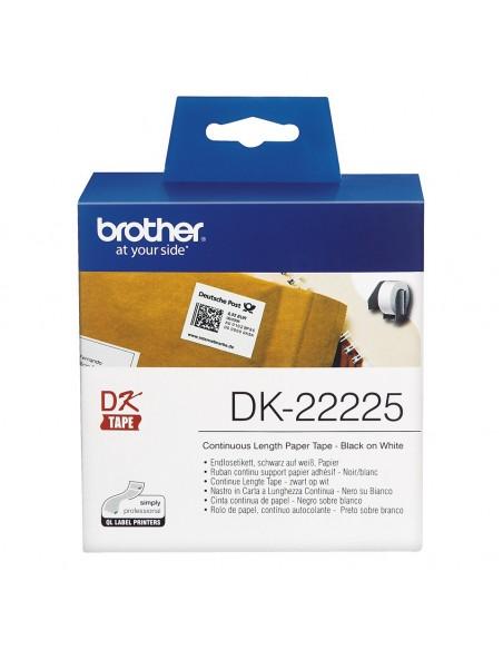 Brother Cinta continua de papel térmico (blanca)