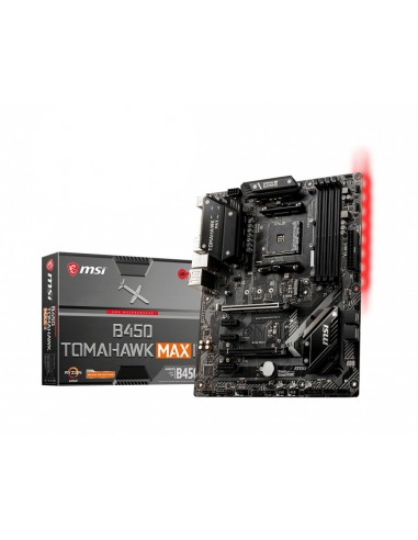MSI B450 TOMAHAWK MAX II placa base AMD B450 Zócalo AM4 ATX