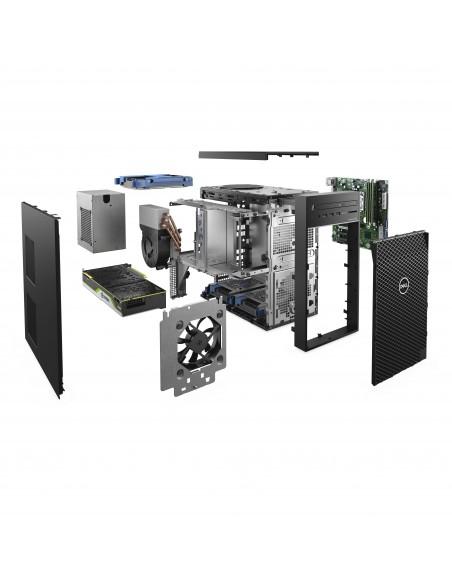 DELL Precision 3640 DDR4-SDRAM i7-10700 Torre Intel® Core™ i7 de 10ma Generación 16 GB 512 GB SSD Windows 10 Pro Puesto de