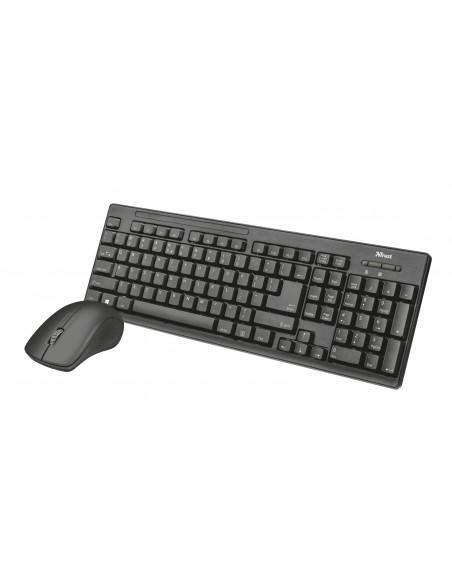 Trust Ziva teclado RF inalámbrico Español Negro
