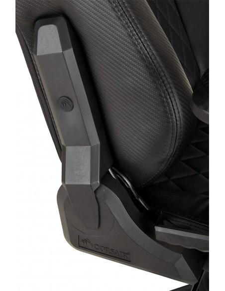 Corsair T1 Race Silla para videojuegos de PC Negro