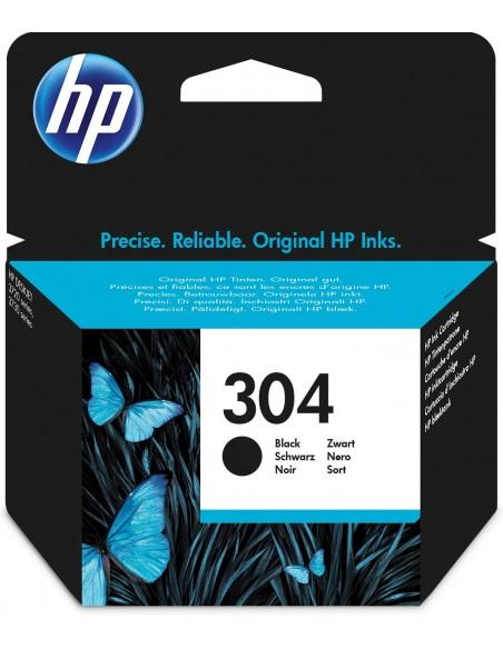 HP 304 cartucho de tinta Original Rendimiento estándar Negro