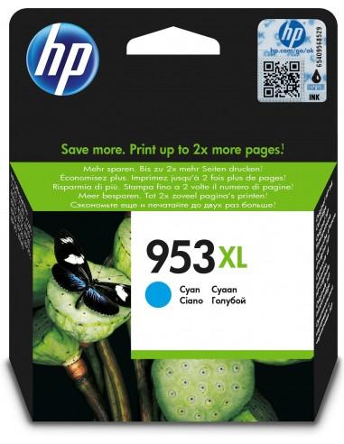 HP 953XL cartucho de tinta Original Alto rendimiento (XL) Cian
