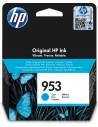 HP 953 cartucho de tinta Original Rendimiento estándar Cian