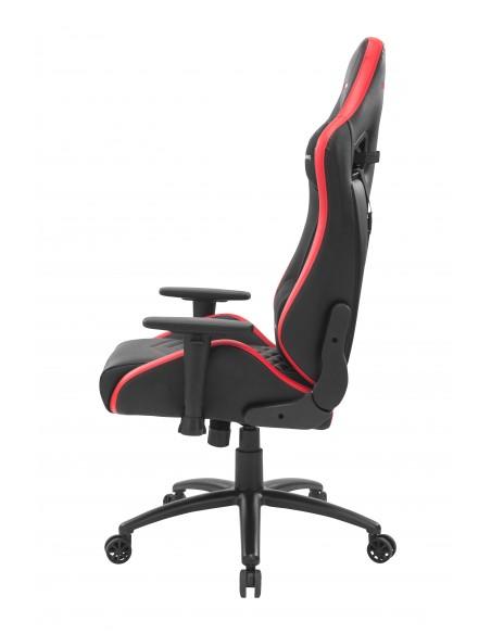 Mars Gaming MGCXNEO Silla para videojuegos universal Asiento acolchado Negro, Rojo