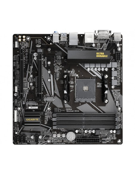 Gigabyte B550M DS3H AMD B550 Zócalo AM4 micro ATX
