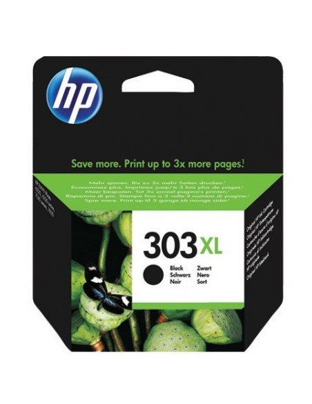 HP 303XL High Yield Black Original cartucho de tinta 1 pieza(s) Alto rendimiento (XL) Negro