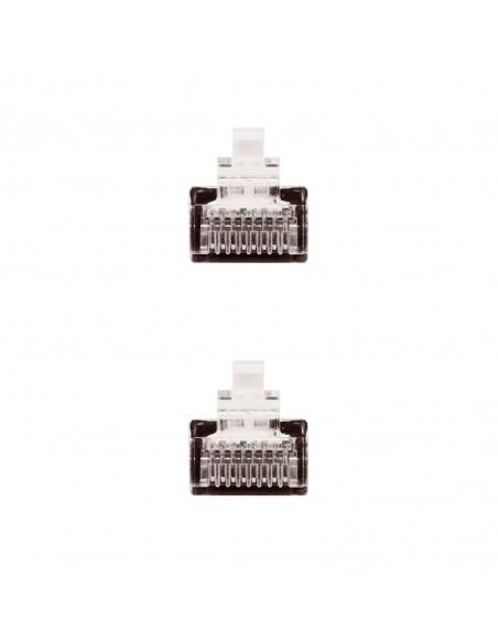 Nanocable 10.20.0401-BK cable de red Negro 1 m Cat6e U UTP (UTP)