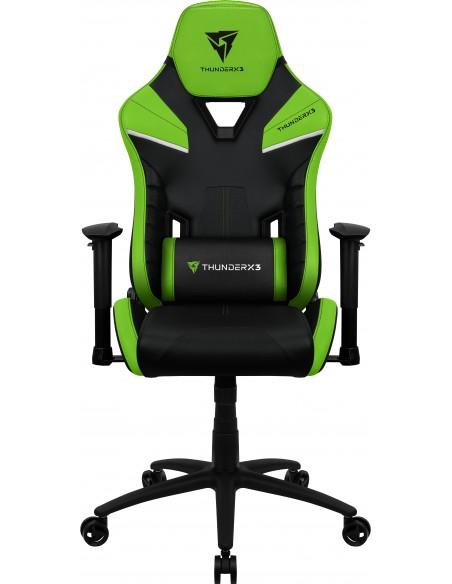 ThunderX3 TC5 Air Tech Silla para videojuegos universal Asiento acolchado Negro, Verde