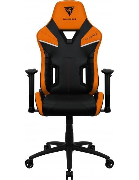 ThunderX3 TC5 Air Tech Silla para videojuegos universal Asiento acolchado Negro, Naranja
