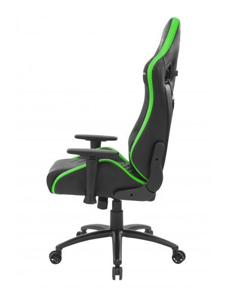 Mars Gaming MGCXNEO Silla para videojuegos universal Asiento acolchado Negro, Verde