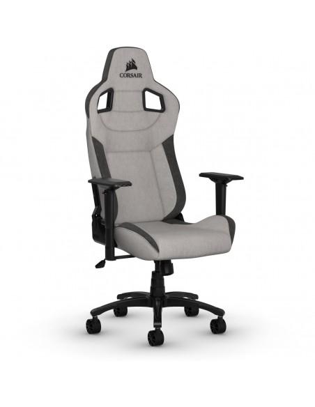 Corsair CF-9010031-WW silla para videojuegos Silla para videojuegos de PC Asiento acolchado Negro, Gris