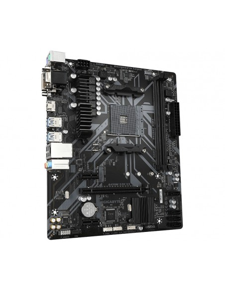 Gigabyte B450M S2H V2 placa base AMD B450 Zócalo AM4 micro ATX