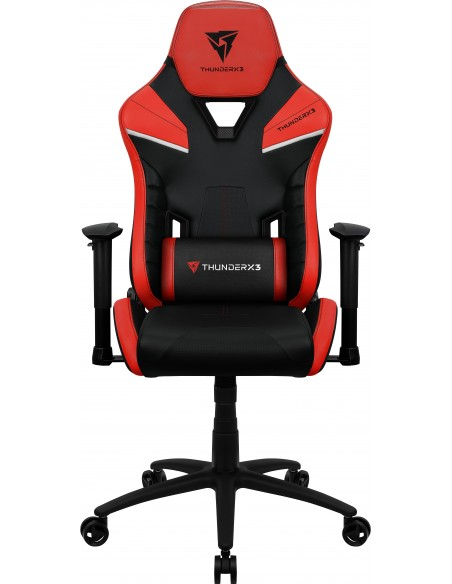 ThunderX3 TC5 Air Tech Silla para videojuegos universal Asiento acolchado Negro, Rojo