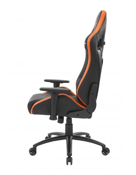 Mars Gaming MGCXNEO Silla para videojuegos universal Asiento acolchado Negro, Naranja